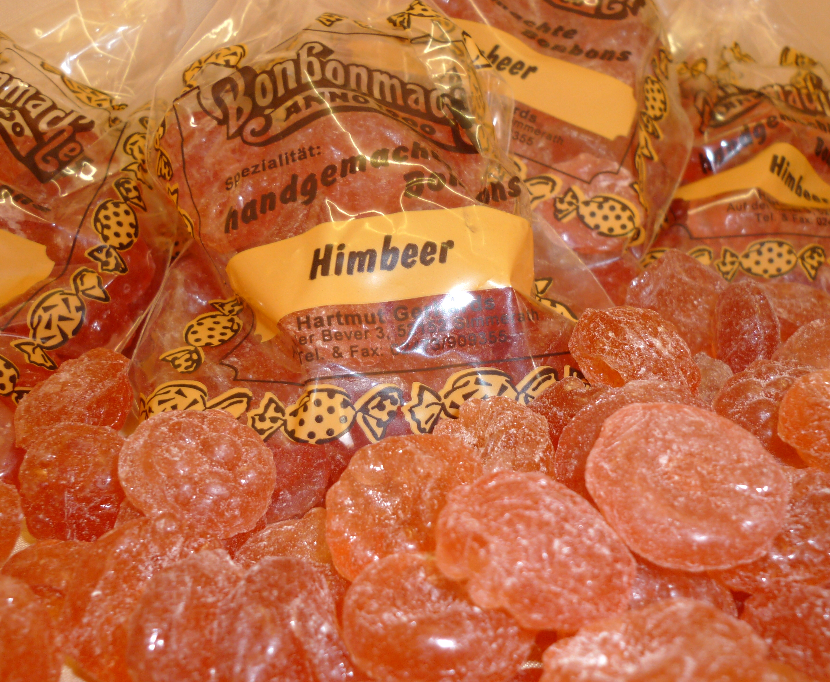 Bonbonmacher Himbeerbonbon